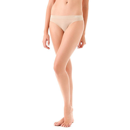 Every girl's underwear drawer should have a nude seamless G-string, or five! Fancy lace has its place and you can't go past a pair of comfy cottontails, but the humble nude G is an absolute wardrobe essential. — Marisa, publisher  G-string, approx $12, Calvin Klein