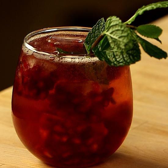Pomegranate Ginger Mint Cocktail | Video