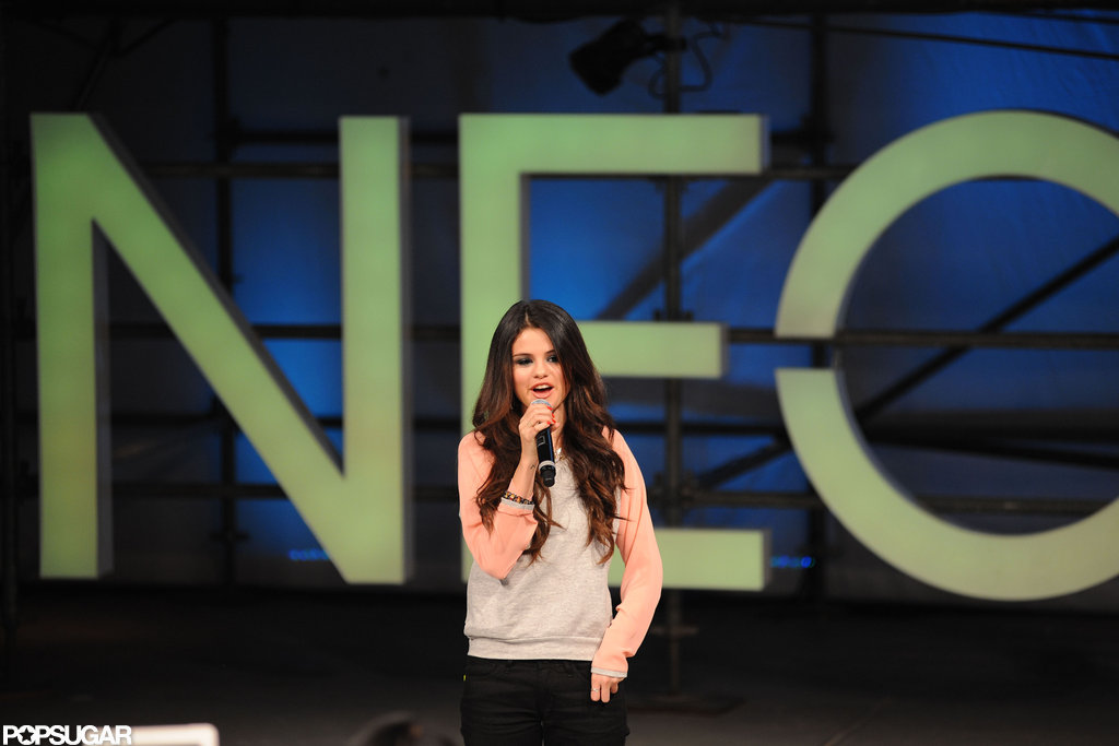 Selena Gomez Braves Protesters For Her First Adidas NEO Show