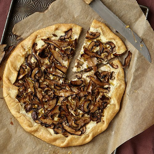 Go Meatless With Chef Carla Hall's Rustic Mushroom Tart