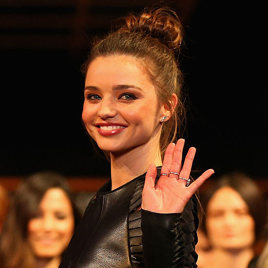 On the Runway: Miranda Kerr, Jessica Gomes & More At the David Jones Autumn Winter Launch
