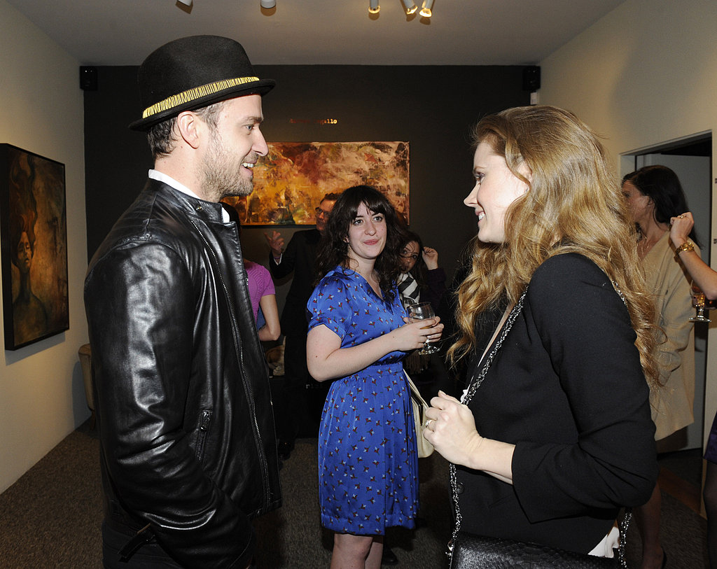 Justin and Jessica Celebrate a Big Night With Amy Adams