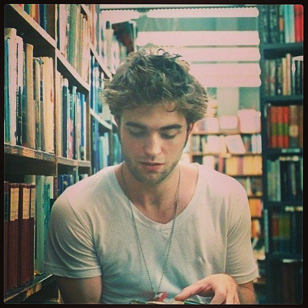 He's Instagram-worthy: Alison's crush on Robert Pattinson will never waver.