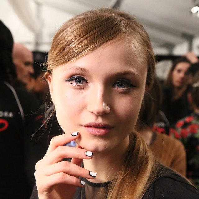 Pictures of Charlotte Ronson Beauty 2013 Fall NYFW