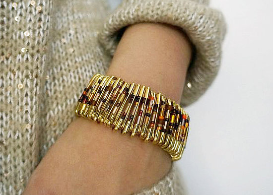 Safety pin bracelet 88 awesome diy stocking stuffers popsugar