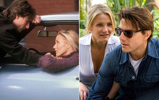 Cameron Diaz and Tom Cruise