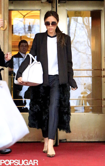 Victoria Beckham Steps Out in Style After Her Successful Show