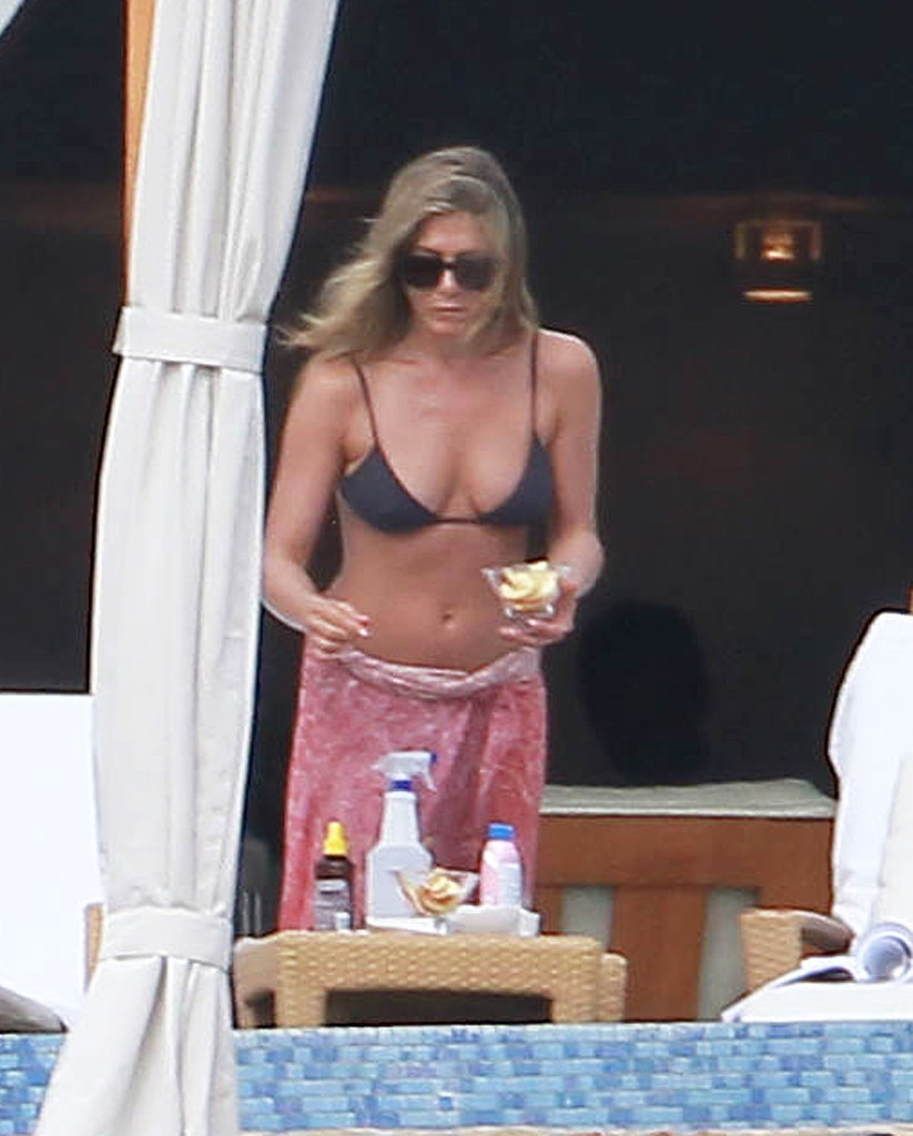 She flaunted her bikini body in January while vacationing with friends in Mexico.