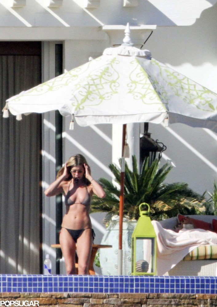 Jennifer celebrated her 41st birthday during a trip to Mexico in February 2010.