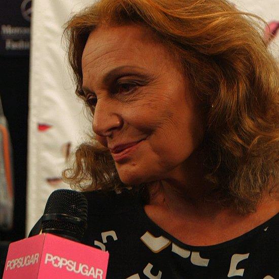 Diane Von Furstenberg Fashion Week Interview 2013