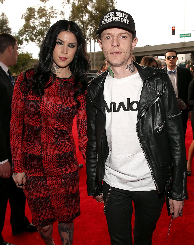 Kat Von D and Deadmau5