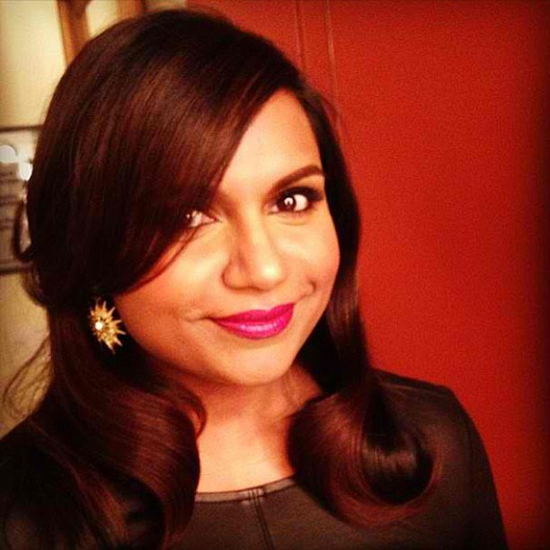 Mindy Kaling shared a gorgeous close-up. Source: Instagram user mindykaling
