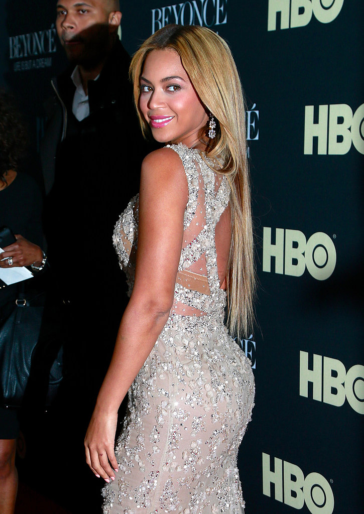 Beyoncé Knowles premiered her HBO film, Life Is But a Dream in NYC last night.