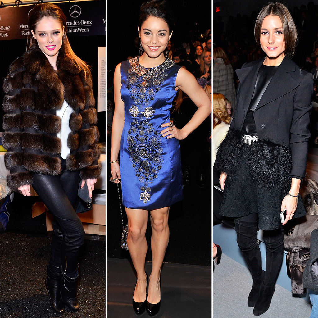 Coco, Vanessa, and Olivia Take Over Fashion Week's Front Row