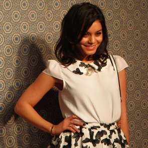 Vanessa Hudgens at New York Fashion Week 2013 | Interview