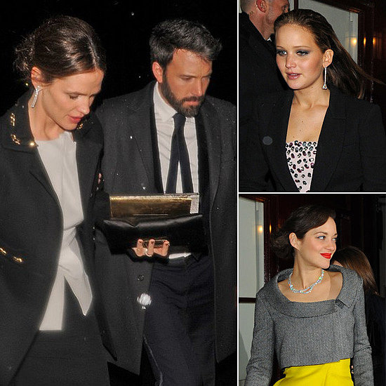 Ben, Jen and More Celebrate Their BAFTA Wins in London