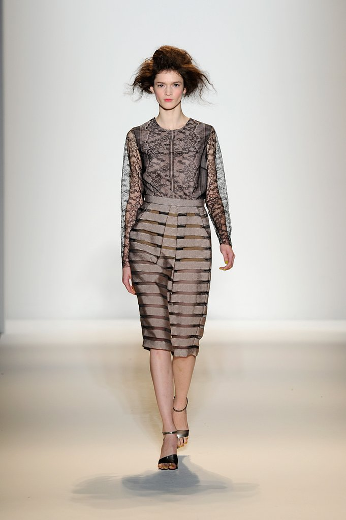 The Prettiest Looks from Lela Rose Fall 2013 Runway