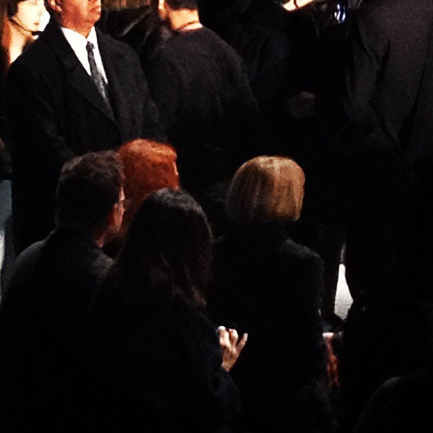 Spotted: Anna Wintour and Grace Coddington sitting front row at Michael Kors.
