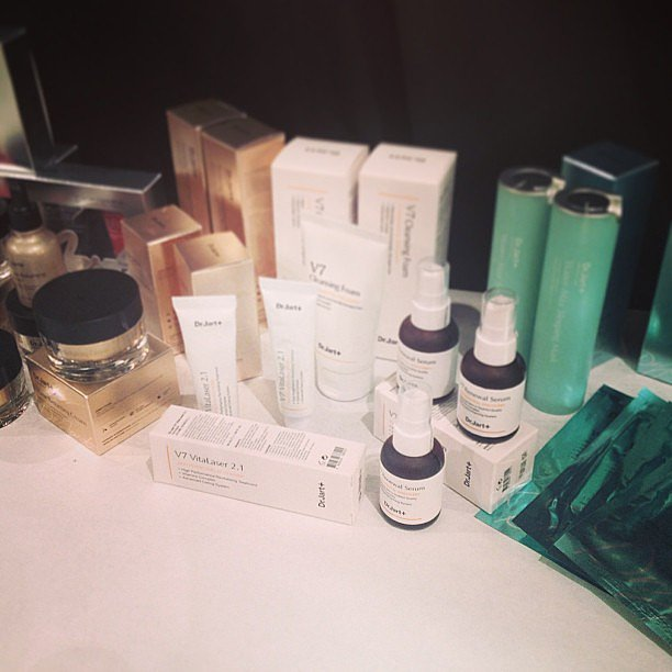 Tons of Dr. Jart love backstage at Rachel Zoe.