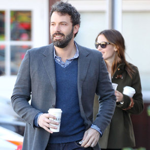 The Garner-Affleck Family at Breakfast   Pictures