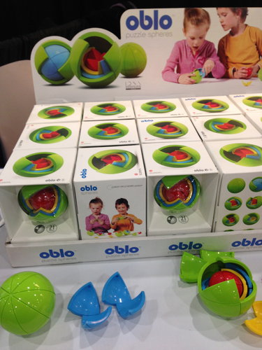 The Oblo — a spherical puzzle that'll challenge kids and parents alike!