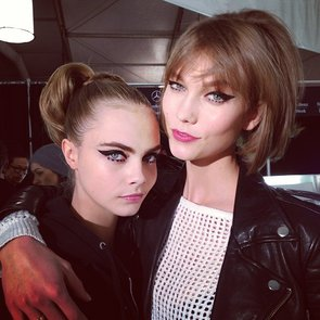 Beauty Instagram: Karlie Kloss, Cara Delevingne Fashion Week