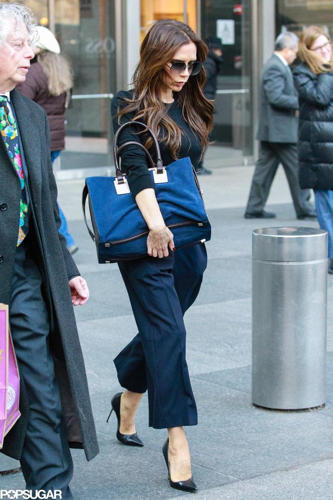 Victoria Beckham ran errands in NYC.