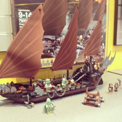 The Lego Lord of the Rings collection is expanding to include this boat from The Hobbit.