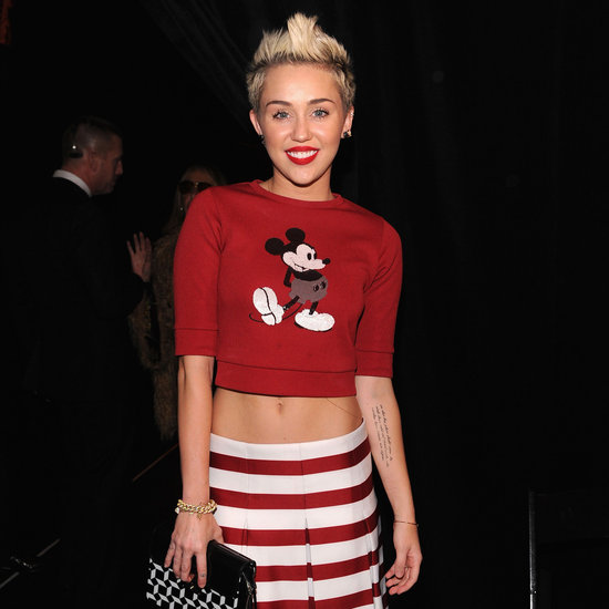 Celebrities Front Row At NYFW: Olivia Wilde, Miley Cyrus
