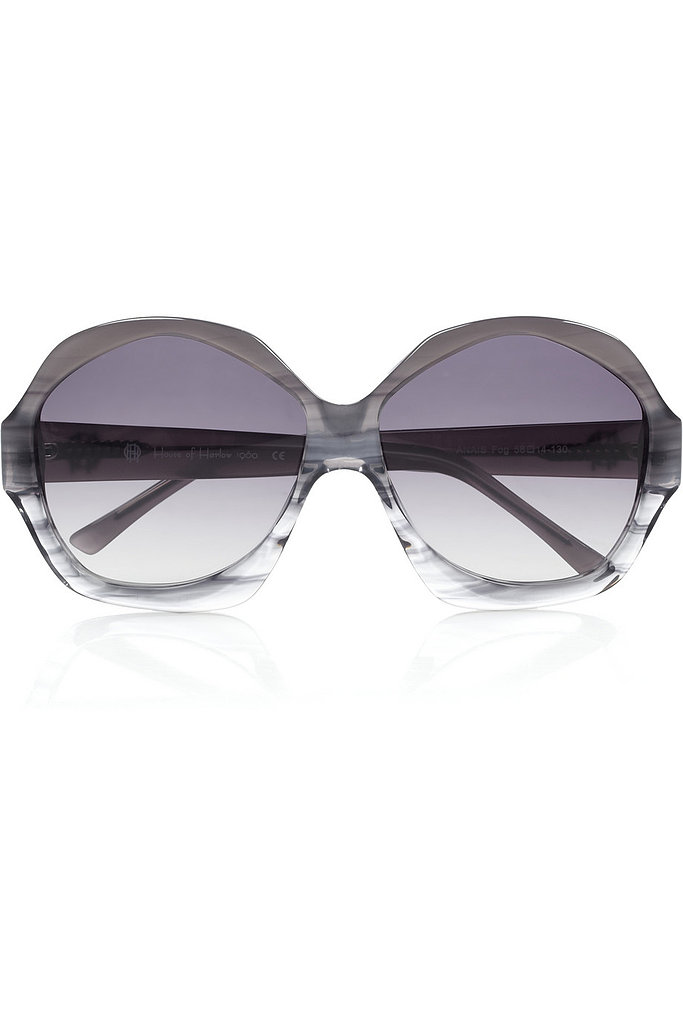 Add a '70s touch to your look with these House of Harlow Anais geometric sunglasses ($33, originally $138).