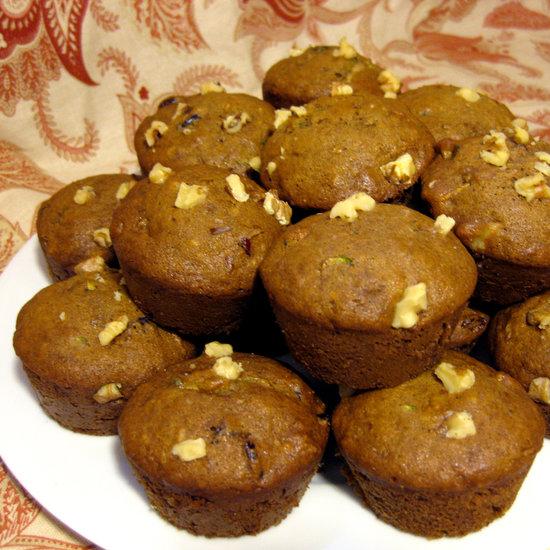 Recipe For Banana Cranberry Zucchini Muffins