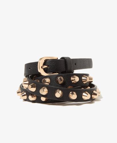 FOREVER 21 Studded Hip Belt