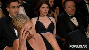 Charlize Theron Oscar Opening Monologue GIF