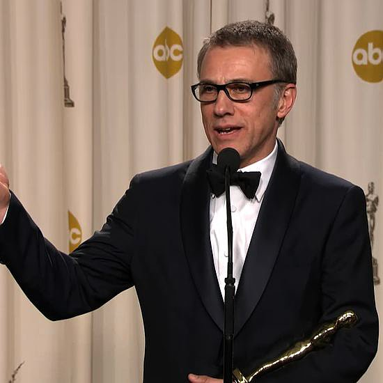Christoph Waltz in the Oscars Press Room | Video