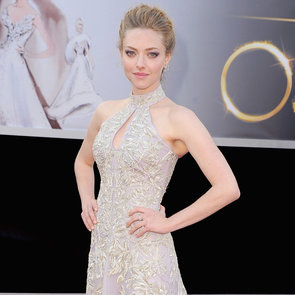Amanda Seyfried in McQueen Pictures at 2013 Oscars