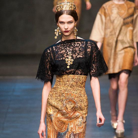 Dolce & Gabbana Runway   Fashion Week Fall 2013 Photos