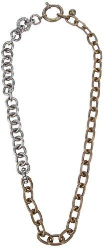 Lanvin brass chain