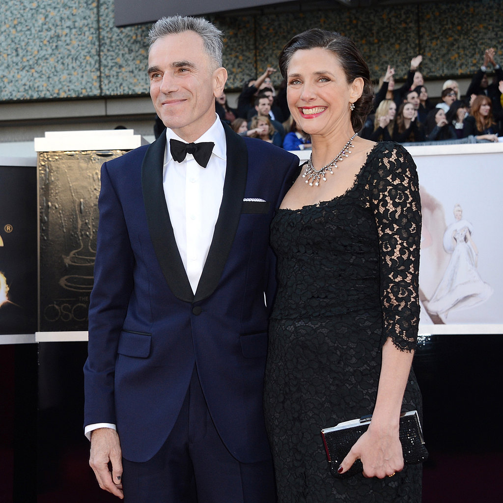 Daniel Day-Lewis and Rebecca Miller at the Oscars 2013 ...