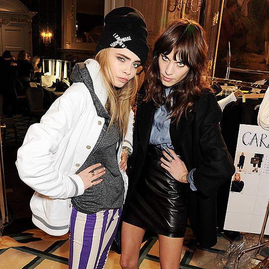 Front Row Celebrity Pictures at London Fashion Week 2013