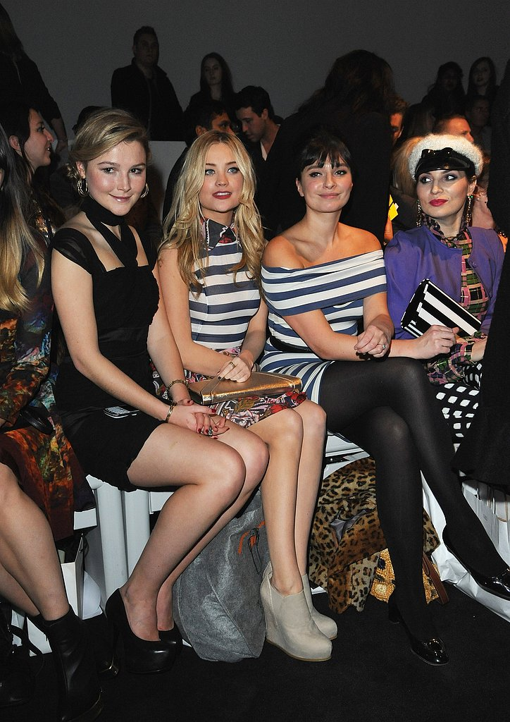 Amber Atherton, Laura Whitmore, Gizzi Erskine and Grace Woodward at PPQ