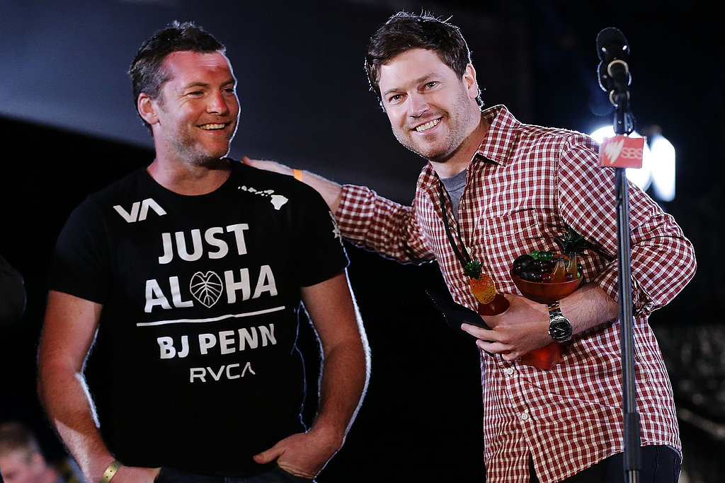 Sam Worthington and Nicholas Clifford
