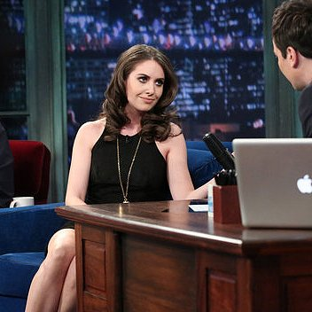 Alison Brie Raps on Late Night With Jimmy Fallon
