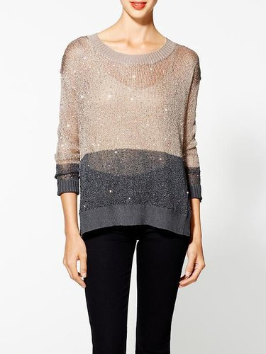 I.Madeline Sequin Sweater