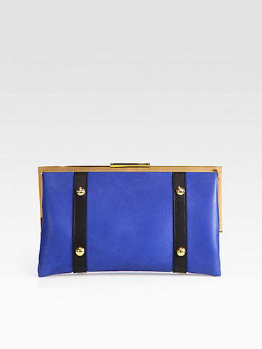 Marni Colorblock Frame Clutch