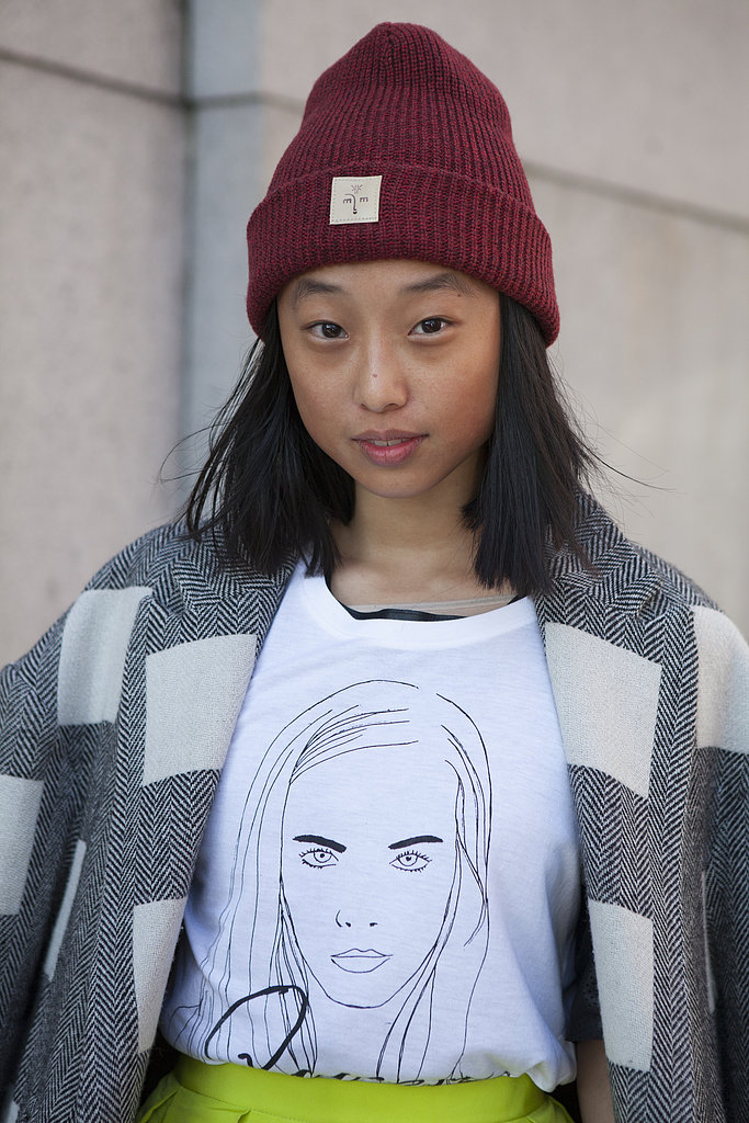Margaret Zhang showed that great hair and a stellar skin care regimen is the foundation for any gorgeous beauty look.