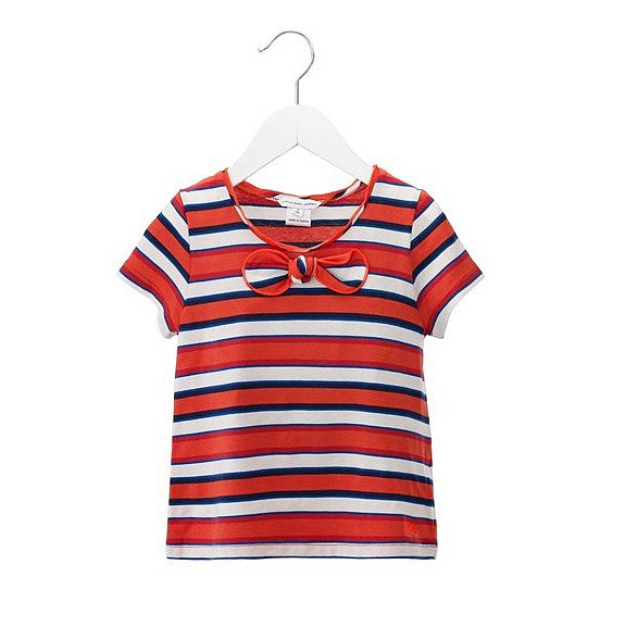 Striped Tee With Bow ($68-75)