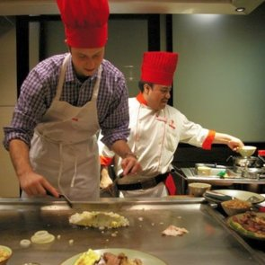 Getting Schooled: One Author's Day as a Benihana Chef