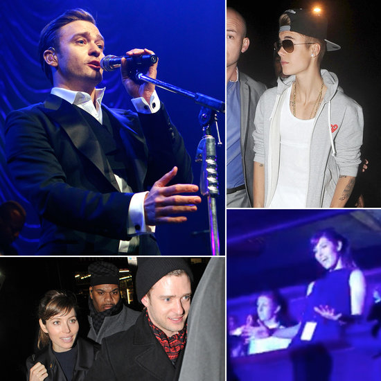 Justin and Jessica Keep London Rocking Post-Brit Awards