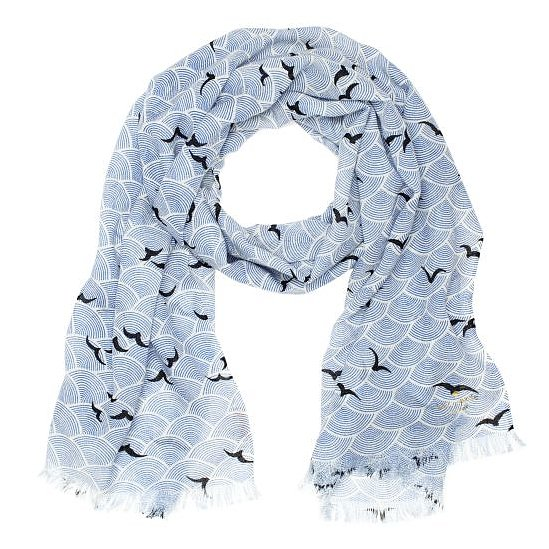 Layer up with Kate Spade's bird-print scarf ($103, originally $148) on those cooler Spring days.