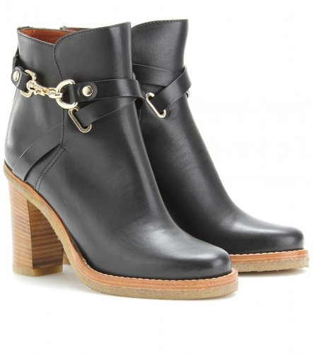 Mulberry DORSET LEATHER ANKLE BOOTS